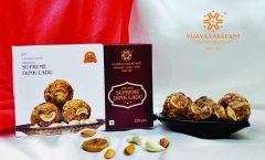 Bhavani Foods Amingads Famous Vijaya Organic Supreme Dink Ladu Very Healthy (250 Gram)