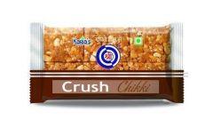 Shreeji Premium Delicious Peanut Crush Chikki (Pack of 10) (Each Pack 100 Grams)