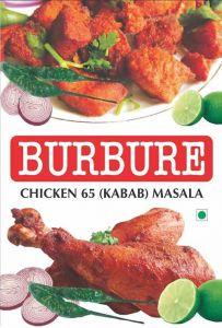 Bhavani Foods Burbure Chicken 65 Kabab Masala Gadag For Non-Vegetarian (Pack of 5) (Each Pack 50 Grams)