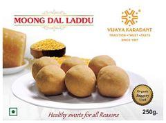 Bhavani Foods Amingad Famous Pure Ghee Moong Daal Ladoo Dasara (Buy 1 GET 1 Free) (Each pack 250 Grams)