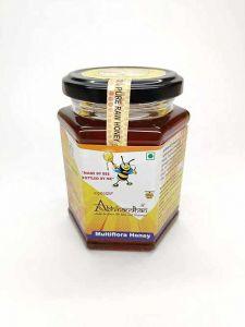 Bhavani Foods Naturals Organic Raw Honey Contains, Wild Forest, Multiflora Honey (350 Grams)