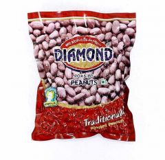 Diamond Premium Roasted Peanuts | Source Of Protein  (200 GMS Each Pack) (Pack Of 16)