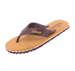 Relaxo Bahamas Flip Flops Slipper For Men (Brown) (Bhg-151)