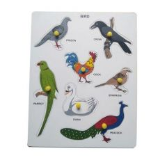 Bird Puzzle for Learning Kids (Pack Of 1)