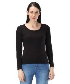 Jazbay Stylish & Fashionable 100% Cotton Blend Full Sleeve Inner Regular For Women