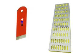 THS 555 Carbide Planer 35mm 1 1/4 for Block Planer With Diamond Sharpening Stone (Pack of 1)