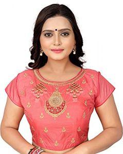 Fashionable and stylish Heavy Phantom Silk Half Sleeve Blouse For Women's