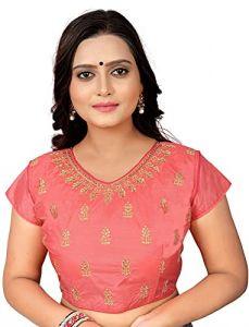 Comfortable and Fashionable Half Sleeve Phantom Silk Blouse For Women's
