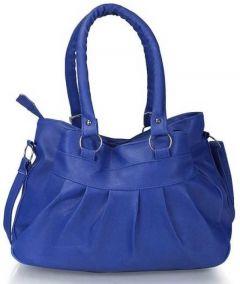 Sr Sales Eye-Catching Design, Lightweight & Convenient To Carry Women Shoulder Bag (Blue)