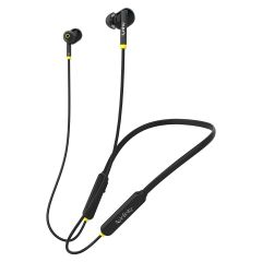 Infinity N133 Glide 5.0 in-Ear Wireless Neckband with Deep Bass & Dual Equalizer Bluetooth (Black)