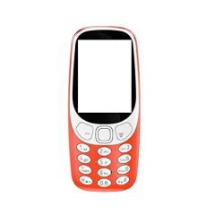 MAND Body Cover Panel Compatible For Nokia 3310 |Not A Mobile Phone, Only Body Panel| (Red) (Pack of 1)