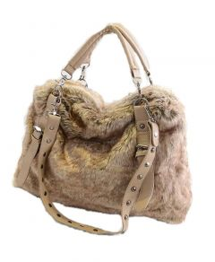 High-Quality Fashionable And Stylish Women Faux Fur Handbags For Women's (Pack of 1)