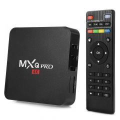 ZAMPEQ MXQ Pro 4k Android TV Box 2GB RAM/ 16GB ROM 64 Bit Quad Core Wi-Fi UHD Smart TV Box (Black)