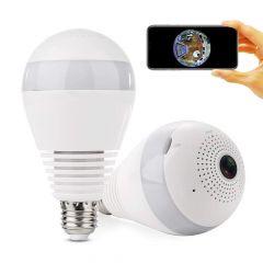 Panoramic Camera in Light Bulb (WiFi Wireless Smart spy Bulb)