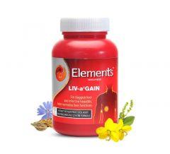 Elements Wellness LIV-A Gain Ayurvedic Liver Capsules (60 Caps) (Pack of 1)