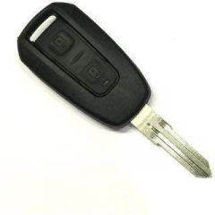 Mand High-Quality Silicone Key Shell With Body Key Blade For Manza/Vista/Indigo (Black) (Pack of 1)
