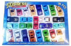Small Sports Race Car Toys Set For Kids Best For Return Gift On Birthday Parties (Pack Of 25)