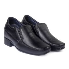 Bxxy's 9 cm (3.5 Inch) Height Increasing Dress Shoe Formal Slip-on Faux Leather Shoes