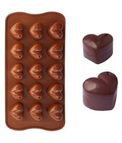 Silicone Flower Shape Chocolate Mould innocuous, non-radiate, non-toxic and environment friendly (Pack of 1)