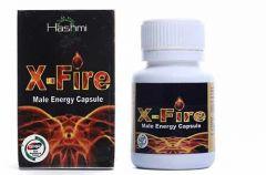 Hashmi X Fire Men Energy 20 Capsules Power Booster & Stamina Enhancer for Men (Pack of 1)