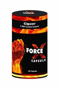 Cipzer Force X 60 Capsules Sex Power Booster & Stamina Enhancer for Men (Pack of 1)