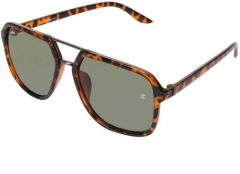 UV Protection Over-sized Sunglasses, Brown Frame | For Unisex (Brown) (Pack Of 1)