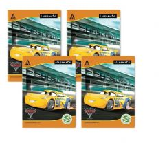 Classmate Notebook - Four Lines With Gap, 172 Pages, 240 mm x 180 mm - Pack Of 4