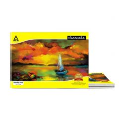 Classmate Drawing Book - Unruled, 40 Pages, 210 mm x 297 mm - Pack Of 4