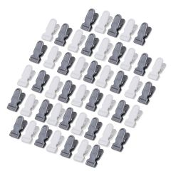 New Trend High Quality Plastic Clothing Clips Pegs For Multipurpose Home Use (Multi-Color) (Pack of 48)