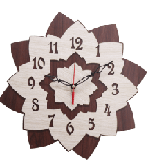 Antique Wooden Decorative Wall Hanging Clock ICW 017