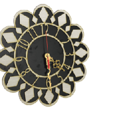 Antique Wooden Decorative Wall Hanging Clock ICW 021