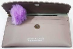 Fashionable  and cute pom pom design Clutch Bag For Womens (Pack of 1)