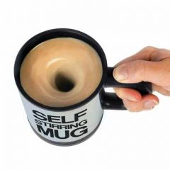 Milk And Protein Shake Self Stirring Coffee Mug For Coffee Hot Chocolate (Pack Of 1)