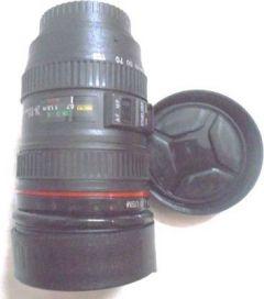 Zicon Real Looking DSLR Coffee Plastic Mug for Tea, Coffee, & Water (400ml)