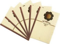 Toss 2021 A5 Diary Ruled 165 Pages Perfect For Gift (Multicolor) (Pack of 6)