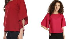 Red And Rosy Colour Half Sleeve Loose Tops Combo