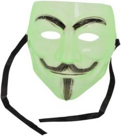 PTCMART Comic Face Mask Green Party Mask(Pack of 1)
