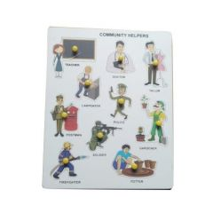 Community Helper Puzzle for Learning Kids (Pack Of 1)