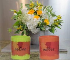 RFL Coffee Plastic Coffee Mug For Home & Office (350 ml) (Pack of 2)