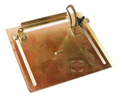 THS Cutter Machine Gauge Base Plate for 110 mm (cm-4), 7.5 x 8.5 inches (Pack of 1)