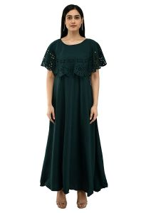 Jazbay Trending & Fashionable Full Length For Casual, Party & Wedding Maxi Dress/Gown For Women (Pack Of 1)