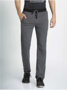 JOCKEY Comfortable and Stylish Solid Cotton Blend Track Pants For Men's (Dark Grey) (Pack of 1)