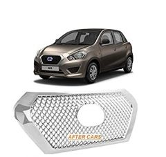 After Cars Datsun Go Alpha Grill Cover with Free car Bluetooth
