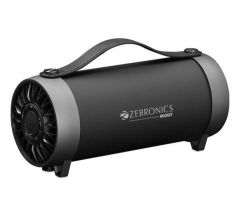 Zebronics Rocket Portable Bluetooth Speaker, Clear Sound & High Sound With Control For Mode Media & Volume
