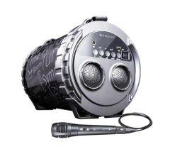 Zebronics Super Bazooka Portable Bluetooth Speaker With Micro SD, USB, FM, AUX, LED Display & Microphones