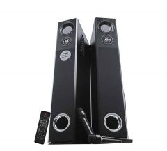 Zebronics ZEB-BT8500RUCF Tower Speaker, High Bass & Clear Sound, Fully Remote Control