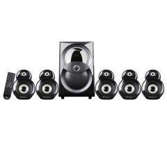 Zebronics MONIC 5.1 Bluetooth Speaker, 10 Meter Bluthooth Range, LED Display & Multi-Function