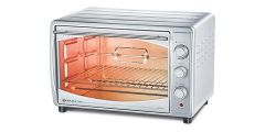 BAJAJ Majesty 45-Litre Oven Toaster, Grill & Baking   1200 Wattage (Silver) (4500 TMCSS)