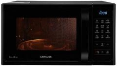 SAMSUNG 28 L Convection Microwave Oven   2900 Watts Suitable For Large Families (MC28H5033CK) (Black)