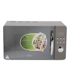 Haier 20 L Convection Microwave Oven   Suitable For Small Family (HIL2001CSPH) (Silver)